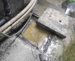 大阪市西成区/排水管詰まり、高圧洗浄清掃