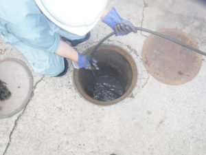 兵庫県宝塚市での排水管詰まり高圧洗浄お任せください!